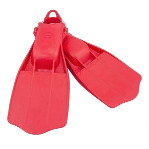 סנפיר גומי Jetstream אדום עם רצועת קפיץ