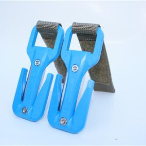 סכין כחול סקוטש חום