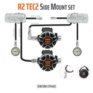סט מערכת נשימה R 2 TEC2 Side Mount