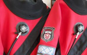 חליפות צלילה יבשות אבזרים וטיפולים
